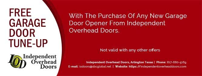 Independent Overhead Doors Specials Call 817 680 5169